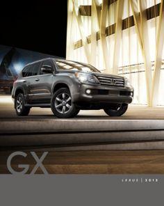 2013 Lexus GX Brochure