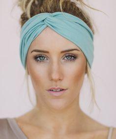 Mint Dove Turban Headband