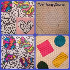 Coloring Shape Stencils
