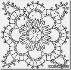 crochet pattern one