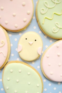 Easter Iced Cookies :)