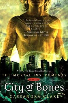 Mortal Instruments Series: City of Bones, City of Ashes, City of Glass, City of Fallen Angels, City of Lost Souls, and City of Heavenly Fire, by Cassandra Clare <3 this series - ★★★★★