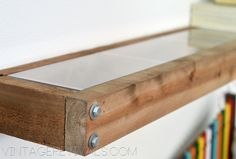 DIY Industrial Modern Floating Shelves. Yes, I think we will.
