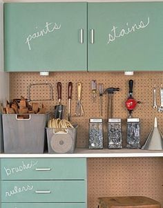 love the cabinets for the garage or laundry room.. found @The Inspired Room.net