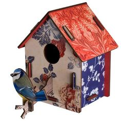 Decorative Birdhouse - Countryside online at UtilityDesign.Co.Uk