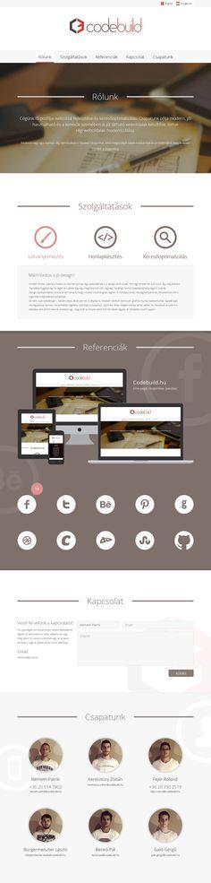 Codebuild's webdesign