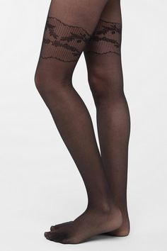 Gipsy Mock Garter Tight  #UrbanOutfitters
