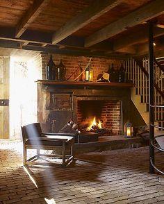 decor, wine cellar, glass jug, cabin, fireplaces, basement, hous, dream lake, favorit season
