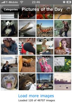 Top Photos iPhone Application