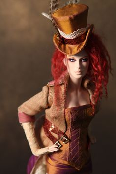 steampunk doll..so pretty