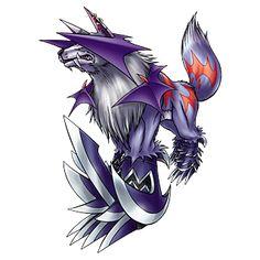 Sangloupmon - Champion level Demon Beast digimon