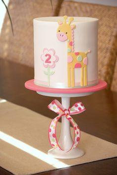 coutur cupcak, giraffe birthday cake, girl birthday cakes, simple cakes, girl cakes, baby cakes, giraff cake, kid cakes, couture cupcakes and cookies