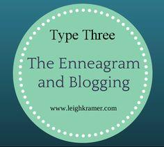 The Enneagram and Blogging via Leigh Kramer