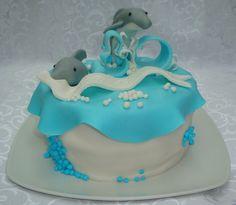 cake idea, cake 30th, dolphin cake, wonder cake, dolphins cake