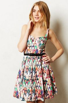 Well-Heeled Dress #anthropologie #anthrofave