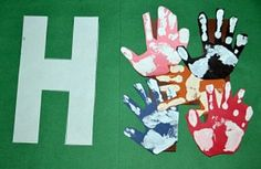 """Hh"" Is For Handprints"