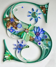 The Letter 'S' Quilling