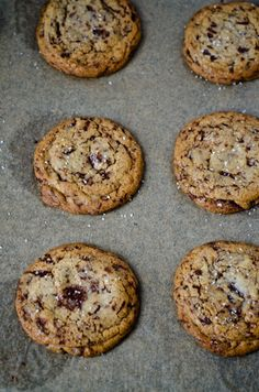 Brown Butter Chocolate Chunk Cookies + recipe #chocolate #brownbutter