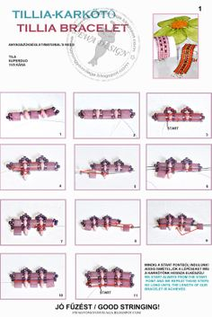 Tila Bracelet. image tutorial.