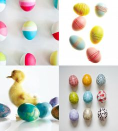 20 pretty ways to decorate easter eggs
