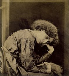 Jane Morris, wife of William Morris, and muse of Gabriel Rossetti a pre-Raphelite painter