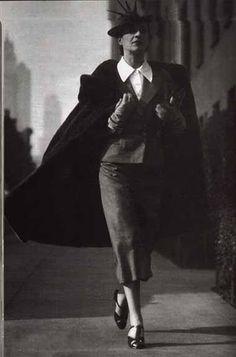 Diana Vreeland (fashion icon, editor/columnist Harper's Bazarr, Vogue)