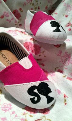 Vintage Barbie Toddler shoes by sweetfeetbybrit on Etsy, $28.00
