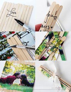 Such a FUN love note!! {The Puzzle Date}