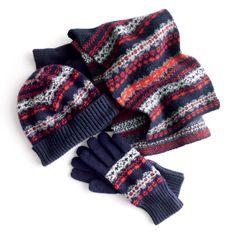 JCREW - winter gift set