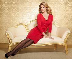 #Soma Side Twist Dress in Ruby #MySomaWishList