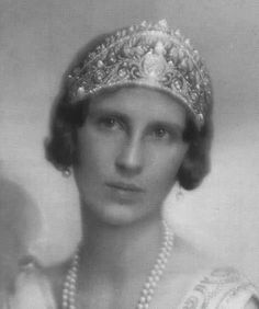 Her Royal Highness Princess Paul of Yugoslavia (1903-1997) née Her Royal Highness Princess Olga of Greece and Denmark