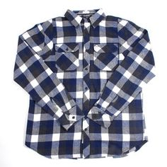Brushed Twill Workshirt Navy now featured on Fab.