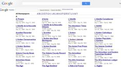 Google Relaunches Its News Archive with Hundreds of Old Newspapers #genealogy #familyhistory
