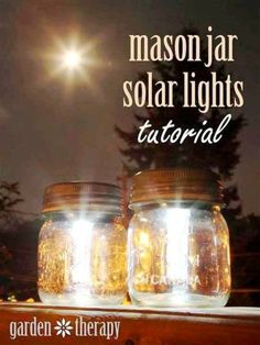 How To Make Mason Jar Solar Lights | Health & Natural Living