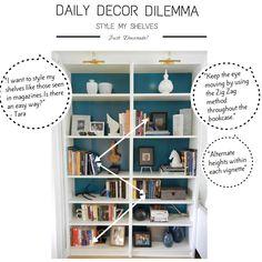 Designer Bookshelf Styling!