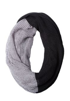 Alloy 2 tone infinity scarf (original price, $18) available at #Maurices