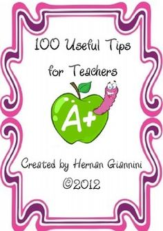100 Useful Tips for Teachers