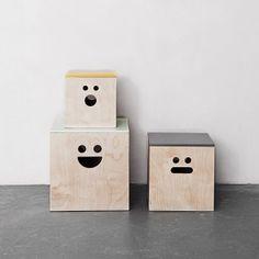 Ferm Living smiling boxes