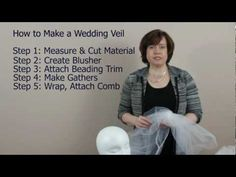 5 Steps to Making a Veil.