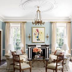 Federal Interiors On Pinterest Architectural Digest Mansions And Dining Rooms