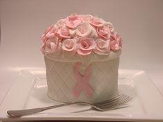 Breast Cancer Awareness Mini Cake