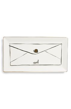 kate spade new york 'snail mail' trinket tray | Nordstrom