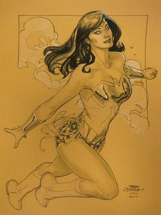 Terry Dodson - Wonder Woman Comic Art
