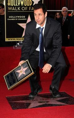 Adam Sandler Gets His Star
