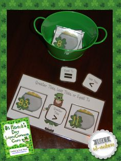 Erica's Ed-Ventures: Celebrating St. Patrick's Day in First Grade & a Freebie