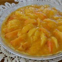 Fresh Peach Pie I Allrecipes.com