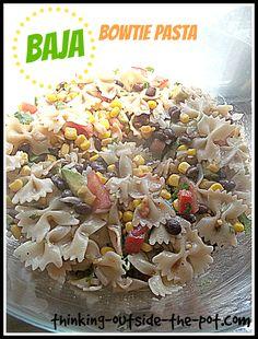 Baja Bowtie Pasta