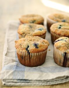 Blueberry Crumble Muffins