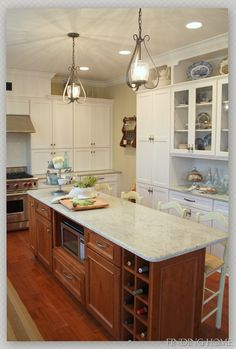 Kitchen Makeover Before and After - Finding Home