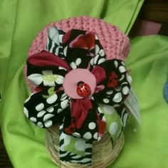 Hats for children. When a hat is purchased a hat is donated to a brave child battling cancer.  This is 1 of 263 donated.